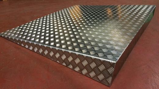 Lasterampe i aluminium